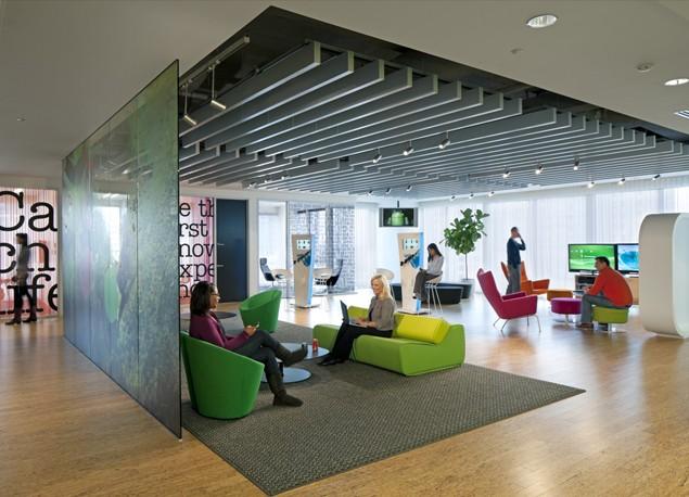 Aménagement d'un espace wellness par HOK