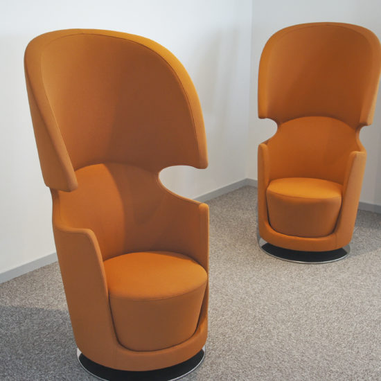 Vue de soft seating individuel chez DV Construction à Orléans