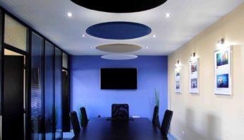 Panneaux acoustiques Vicoustic à suspendre au plafond
